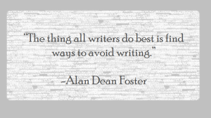Just a quote about writing.
