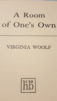 A Room of One's Own Title page from 1929 edition
